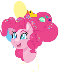 Size: 800x988   Tagged: safe, artist:katsuforov-chan, part of a set, pinkie pie, earth pony, pony, bust, cutie mark background, ear fluff, female, mare, older, older pinkie pie, open mouth, portrait, simple background, smiling, solo, three quarter view, transparent background
