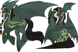 Size: 1194x805   Tagged: safe, artist:velnyx, oc, oc:patchouli, bat pony, pony, male, simple background, solo, stallion, transparent background, wing ears