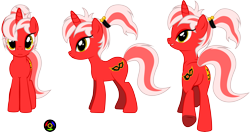 Size: 5923x3130 | Tagged: safe, artist:kyoshyu, oc, oc:amber guild, pony, unicorn, absurd resolution, butt, female, mare, plot, simple background, solo, transparent background, vector