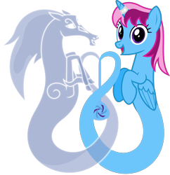 Size: 4000x4127 | Tagged: safe, artist:parclytaxel, oc, oc only, oc:parcly taxel, oc:spindle, alicorn, genie, genie pony, pony, windigo, 2021 community collab, ain't never had friends like us, albumin flask, derpibooru community collaboration, .svg available, absurd resolution, alicorn oc, bottle, female, heart, horn, horn ring, looking at you, mare, ring, simple background, smiling, transparent background, vector, windigo oc, wings