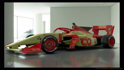 Size: 1920x1080 | Tagged: safe, artist:saturnbrony_44, apple bloom, 3d, car, gran turismo, gran turismo sport, honda, racecar, super formula