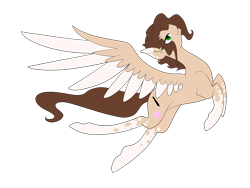 Size: 3200x2400 | Tagged: safe, artist:minelvi, oc, oc only, pegasus, pony, flying, pegasus oc, simple background, socks (coat marking), solo, transparent background, two toned wings, wings