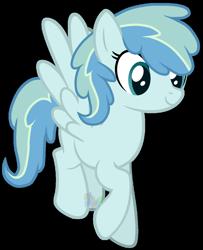 Size: 1024x1263 | Tagged: safe, artist:pure-blue-heart, oc, oc:cotton cloud, pegasus, pony, female, mare, offspring, parent:party favor, parent:vapor trail, simple background, solo, transparent background