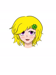 Size: 1440x1920 | Tagged: safe, artist:f8, oc, oc:horsewhite, human, looking at you, smiling