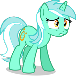 Size: 8739x8876 | Tagged: safe, artist:thatusualguy06, lyra heartstrings, pony, unicorn, slice of life (episode), .svg available, absurd resolution, female, mare, show accurate, simple background, solo, svg, transparent background, vector