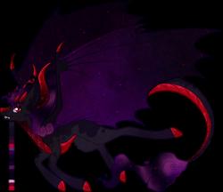 Size: 1280x1105 | Tagged: safe, artist:velnyx, oc, oc:bloodstone, dracony, dragon, hybrid, pony, female, simple background, solo, transparent background