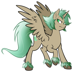 Size: 784x754   Tagged: safe, artist:egophiliac, oc, oc only, oc:mountain melody, alicorn, pony, alicorn oc, female, horn, simple background, solo, transparent background, wings