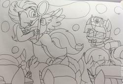 Size: 3449x2369   Tagged: safe, artist:徐詩珮, fizzlepop berrytwist, gallus, glitter drops, ocellus, sandbar, silverstream, smolder, spring rain, tempest shadow, twilight sparkle, yona, alicorn, changedling, changeling, dragon, earth pony, griffon, hippogriff, pony, unicorn, yak, series:sprglitemplight diary, series:sprglitemplight life jacket days, series:springshadowdrops diary, series:springshadowdrops life jacket days, alternate universe, bisexual, broken horn, bubble, clothes, cute, dragoness, equestria girls outfit, female, glitterbetes, glitterlight, glittershadow, horn, lesbian, lifeguard spring rain, paw patrol, polyamory, shipping, sprglitemplight, springbetes, springdrops, springlight, springshadow, springshadowdrops, student six, tempestbetes, tempestlight, twilight sparkle (alicorn)