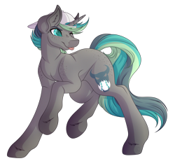 Size: 3342x3210 | Tagged: safe, artist:amazing-artsong, oc, oc only, oc:slugger, pony, unicorn, cap, hat, high res, male, simple background, solo, stallion, tongue out, transparent background