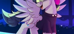Size: 3500x1640 | Tagged: safe, artist:shadowreindeer, songbird serenade, my little pony: the movie, solo