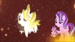 Size: 2560x1440 | Tagged: safe, artist:cjanatur, starlight glimmer, after effect, light, my little pony