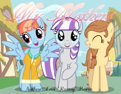 Size: 649x504   Tagged: safe, artist:ravvij, twilight velvet, windy whistles, oc, oc:cream heart, earth pony, pegasus, pony, unicorn
