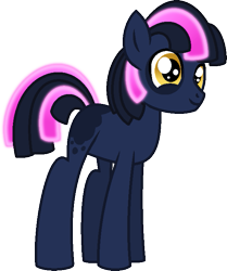 Size: 597x713 | Tagged: safe, artist:starryoak, oc, oc only, oc:galaxy gazer, earth pony, pony, miracleverse, blank flank, colt, male, offspring, parent:big macintosh, parent:twilight sparkle, parents:twimac, simple background, solo, transparent background