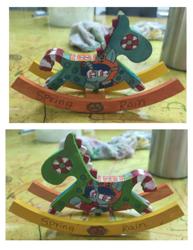 Size: 834x1080 | Tagged: safe, artist:徐詩珮, spring rain, pony, unicorn, series:sprglitemplight diary, series:sprglitemplight life jacket days, series:springshadowdrops diary, series:springshadowdrops life jacket days, alternate universe, clothes, craft, cute, drawing, irl, lifeguard, lifeguard spring rain, mouth hold, paw patrol, photo, swimsuit, whistle, whistle necklace, zuma, zuma (paw patrol)