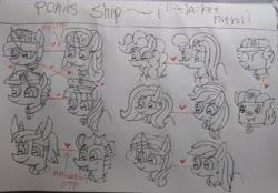 Size: 3300x2292 | Tagged: safe, artist:徐詩珮, applejack, fizzlepop berrytwist, fluttershy, garble, glitter drops, grubber, pinkie pie, princess skystar, prominence, rainbow dash, rarity, spike, spring rain, tempest shadow, twilight sparkle, alicorn, dragon, earth pony, hedgehog, hippogriff, pegasus, pony, unicorn, series:sprglitemplight diary, series:sprglitemplight life jacket days, series:springshadowdrops diary, series:springshadowdrops life jacket days, my little pony: the movie, alternate universe, appleshy, bisexual, broken horn, clothes, cute, dragoness, female, garbinence, gay, glitterbetes, glitterlight, glittershadow, grubberspike, horn, lesbian, lifeguard, lifeguard spring rain, lifejacket, male, mane seven, mane six, paw patrol, polyamory, raridash, shipping, skypie, sprglitemplight, springbetes, springdrops, springlight, springshadow, springshadowdrops, straight, swimsuit, tempestbetes, tempestlight, twilight sparkle (alicorn)