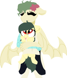 Size: 824x965 | Tagged: safe, artist:nootaz, oc, oc only, bat pony, pony, anthro with ponies, bat pony oc, simple background, tongue out, transparent background