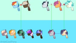 Size: 1024x579 | Tagged: safe, artist:artistcoolpony, dumbbell, rainbow dash, rumble, scootaloo, terramar, oc, oc:flaming streak, oc:hazel skies, oc:heavy metal, oc:misty, oc:shockwave, oc:thunderbolt, oc:wave rider, hybrid, dumbdash, family, family tree, female, half-siblings, interspecies offspring, male, offspring, parent:dumbbell, parent:rainbow dash, parent:rumble, parent:scootaloo, parent:terramar, parents:dumbdash, parents:rumbloo, parents:terraloo, rumbloo, shipping, straight, terraloo