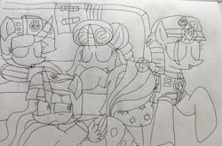 Size: 3002x1980   Tagged: safe, artist:徐詩珮, fizzlepop berrytwist, glitter drops, spring rain, tempest shadow, twilight sparkle, alicorn, unicorn, series:sprglitemplight diary, series:sprglitemplight life jacket days, series:springshadowdrops diary, series:springshadowdrops life jacket days, alternate universe, bisexual, broken horn, clothes, cute, equestria girls outfit, female, glitterbetes, glitterlight, glittershadow, horn, lesbian, lifeguard, lifeguard spring rain, lifejacket, magic, nap, paw patrol, polyamory, shipping, sleeping, snoring, sprglitemplight, springbetes, springdrops, springlight, springshadow, springshadowdrops, swimsuit, tempestbetes, tempestlight, twilight sparkle (alicorn)