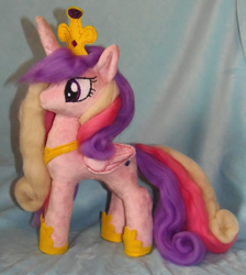 Size: 1789x2000 | Tagged: safe, artist:crazyditty, princess cadance, hearts and hooves day, photo, plushie