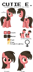 Size: 5000x11000 | Tagged: safe, artist:mrkat7214, oc, oc only, oc:ace play, oc:cutie e, earth pony, pony, female, mare, pun, reference sheet, rule 63, semi-transparent, semi-transparent background, simple background, solo
