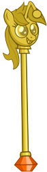 Size: 832x3000 | Tagged: safe, artist:pinkiepi314, oc, oc only, oc:karma, pony, unicorn, female, high res, mare, meme, ponified, reddit, scepter, simple background, solo, transparent background, upvote, vector