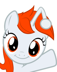 Size: 2187x2742 | Tagged: safe, artist:pinkiepi314, oc, oc only, oc:karma, pony, unicorn, female, filly, happy, high res, mare, ponified, reddit, simple background, solo, transparent background, vector
