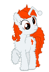 Size: 2016x2974 | Tagged: safe, artist:orangel8989, oc, oc only, oc:karma, pony, unicorn, cutie mark, derp, female, fluffy, mare, ponified, reddit, simple background, solo, static, transparent background, upvote, vector