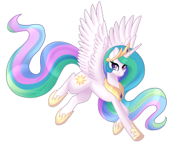 Size: 6000x5000 | Tagged: safe, artist:lavenderheartsmlp, princess celestia, alicorn, pony, absurd resolution, cute, cutelestia, female, heart eyes, mare, simple background, solo, spread wings, transparent background, wingding eyes, wings