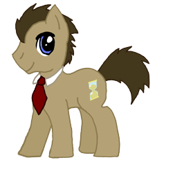 Size: 3411x3333 | Tagged: safe, artist:sketchymouse, doctor whooves, time turner, earth pony, pony, male, necktie, simple background, solo, stallion, transparent background