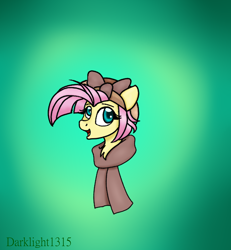 Size: 4644x5034 | Tagged: safe, artist:darklight1315, fluttershy, pegasus, pony, the cutie re-mark, alternate timeline, crystal war timeline, cute, shyabetes, solo