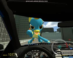 Size: 1280x1024 | Tagged: safe, spitfire, pegasus, 3d, car, ford, ford f-150, game screencap, gmod, solo, wonderbolts