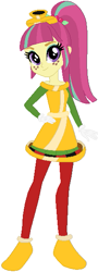 Size: 215x595 | Tagged: safe, artist:selenaede, artist:user15432, sour sweet, human, equestria girls, ballerina, ballet slippers, barely eqg related, base used, clothes, crossover, cuphead, gloves, pirouletta, shoes, slippers, studio mdhr