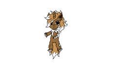 Size: 1920x1080 | Tagged: safe, oc, oc only, oc:erin, eevee, pony, unicorn, crossover, digital art, original art, pokémon, simple background, solo, transparent background