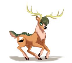 Size: 1600x1400 | Tagged: safe, artist:tuwka, oc, oc:jacky breeze, deer, simple background, white background
