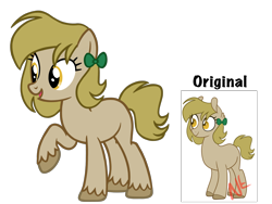 Size: 4500x3375 | Tagged: safe, artist:avatarmicheru, oc, oc:parcel express, earth pony, pony, female, high res, mare, offspring, parent:derpy hooves, parent:doctor whooves, parents:doctorderpy, simple background, solo, transparent background
