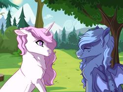 Size: 4000x3000   Tagged: safe, artist:venommocity, princess celestia, princess luna, bat pony, unicorn, pink-mane celestia, race swap, s1 luna, younger
