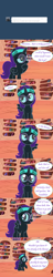 Size: 800x4200 | Tagged: safe, artist:niggerfaggot, oc, oc only, oc:nyx, alicorn, pony, ask nyx now, female, filly, glasses, golden oaks library, headband, tumblr, tumblr comic