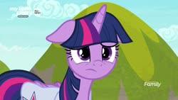 Size: 1920x1080   Tagged: safe, screencap, twilight sparkle, alicorn, pony, the point of no return, spoiler:s09e05, bag, saddle bag, solo, twilight sparkle (alicorn)