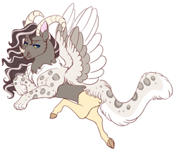 Size: 1426x1236 | Tagged: safe, artist:uunicornicc, oc, draconequus, hybrid, interspecies offspring, male, offspring, parent:discord, parent:fluttershy, parents:discoshy, simple background, solo, white background
