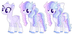 Size: 4525x2156 | Tagged: safe, artist:luqella, oc, oc:wisteria may, pegasus, pony, bald, female, high res, mare, offspring, parent:oc:pelito, parent:princess cadance, parents:canon x oc, simple background, solo, transparent background