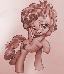 Size: 1032x1200 | Tagged: safe, artist:pencils, cozy glow, pegasus, pony, female, filly, solo