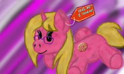 Size: 1600x960 | Tagged: safe, artist:brightstarclick, oc, oc:bright star, unicorn, plushie