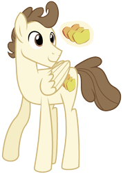 Size: 977x1370 | Tagged: safe, artist:eonionic, pound cake, pony, older, simple background, solo, transparent background