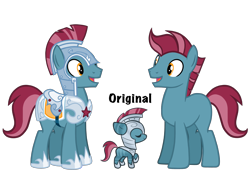 Size: 4500x3375 | Tagged: safe, artist:avatarmicheru, oc, oc:cosmos steel, earth pony, pony, armor, high res, male, simple background, solo, stallion, transparent background