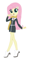Size: 292x624 | Tagged: safe, artist:cookiechans2, artist:fjessemcsm, fluttershy, human, equestria girls, ace attorney, barely eqg related, base used, capcom, clothes, crossover, high heels, jewelry, mia fey, necklace, scarf, shoes