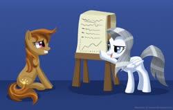 Size: 1280x813 | Tagged: safe, artist:champion-of-namira, oc, oc only, oc:silverline, oc:summer shine, earth pony, pegasus, pony, chart, female, mare
