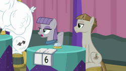 Size: 1920x1080 | Tagged: safe, screencap, bulk biceps, maud pie, mudbriar, a trivial pursuit, spoiler:s09e16, bell