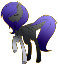 Size: 1374x1546 | Tagged: safe, artist:chazmazda, oc, oc only, pony, commission, commissions open, digital art, shade, simple background, solo, transparent background