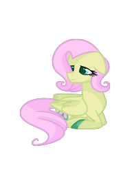 Size: 882x1148 | Tagged: safe, artist:andromedasparkz, fluttershy, pegasus, pony, leak, spoiler:g5, female, fluttershy (g5), g5, hooves, mare, redesign, simple background, solo, transparent background