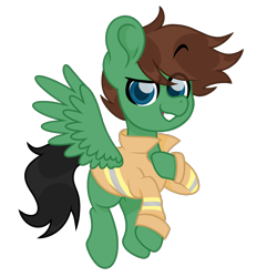 Size: 2008x2008 | Tagged: safe, artist:ninnydraws, oc, oc only, oc:delta hooves, pegasus, pony, british, eyebrows visible through hair, firefighter, firefighter tunic, gift art, gifted commission, male, pegasus oc, simple background, solo, transparent background